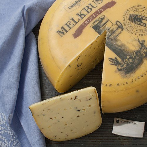 igourmet Raw Milk Gouda with Truffles (7.5 ounce) by igourmet