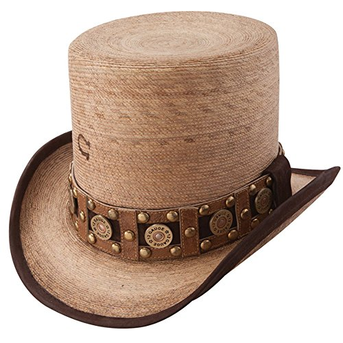 Charlie 1 Horse Quick Draw - Straw Top Hat (Large)