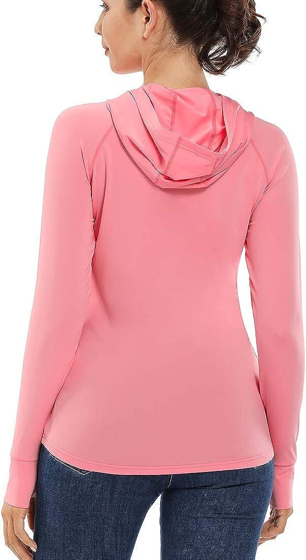 Sun Protection Long Sleeve Sun Shirt Devoropa Womens SPF Shirts UPF 50