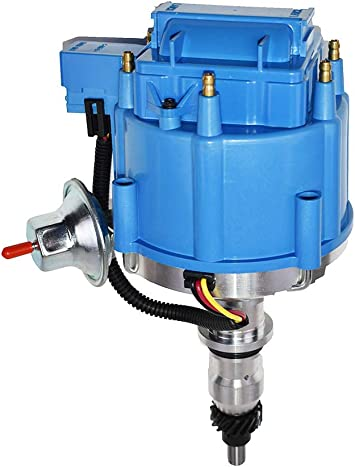 BLUE female Ready-To-Run//Small HEI Replacement Distributor Cap,Rotor,module TSP