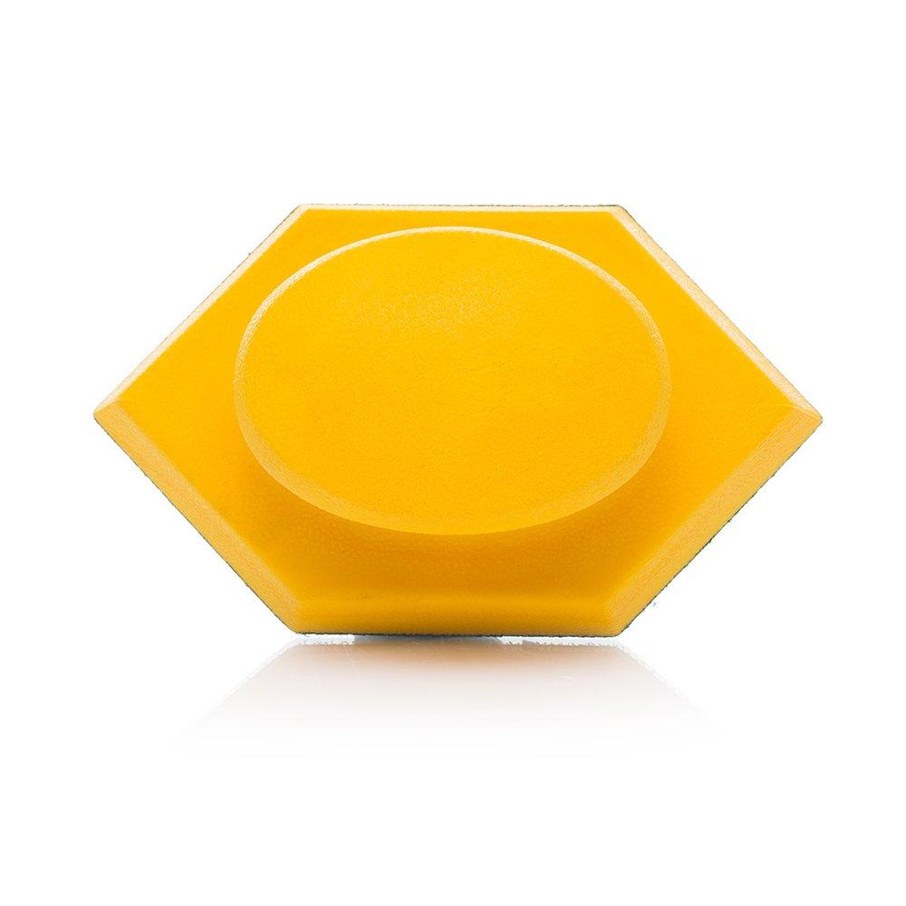 Klett-Schleifblock, Schleifhandblock mit mittlerer Dichte und ergonomischer Form Glass Polish