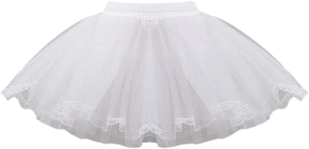 only y y - Falda de Tul Vintage para Mujer o niña, de Encaje Corto ...