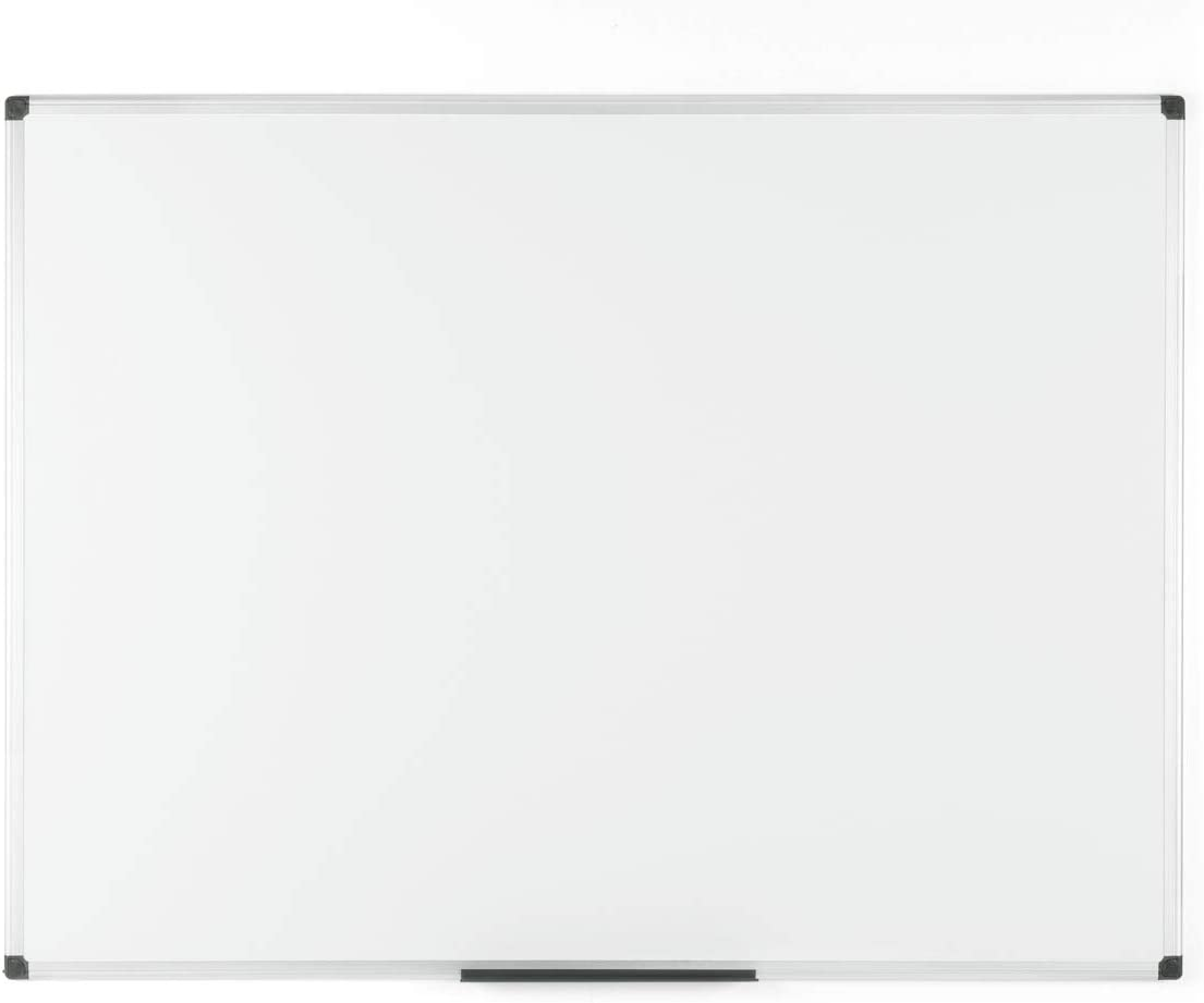 A3 A5 Magnetic Whiteboard Plain Dry Wipe Notice Office School 40 x 50cm 4xpens
