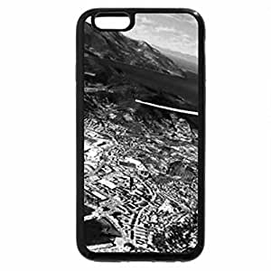iPhone 6S Case, iPhone 6 Case (Black & White) - Elba Island from the air