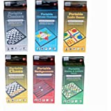 Magnetic Portable Travel Games, 24 Assorted