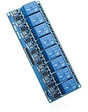Elegoo 4 Channel DC 5V Modulo Relay con Accoppiatore Ottico per Arduino UNO R3 MEGA 2560 1280 DSP ARM PIC AVR STM32 Raspberry Pi