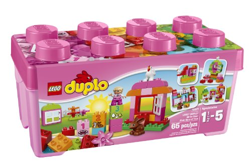 LEGO DUPLO One Pink Box Educational Toddlers