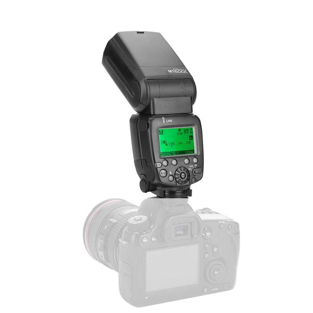 Mcoplus Flash Light On-Camera Speedlite Externo con Pantalla LCD para Canon Nikon para Nikon Hot Shoe N Pomya Flash Profesional de c/ámara Speedlite para Canon para Nikon