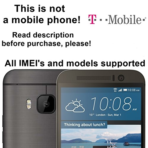 T-Mobile USA Unlocking Service for HTC One X, S, V, M7, M8, M9, DESIRE 601, 510, 320 and Other Which Ask For an Unlock Code - Make Your Device More Useful Than Before - Choose Any Carrier at Your Own at Any Time You Need - No Re-lock Lifetime Guarantee