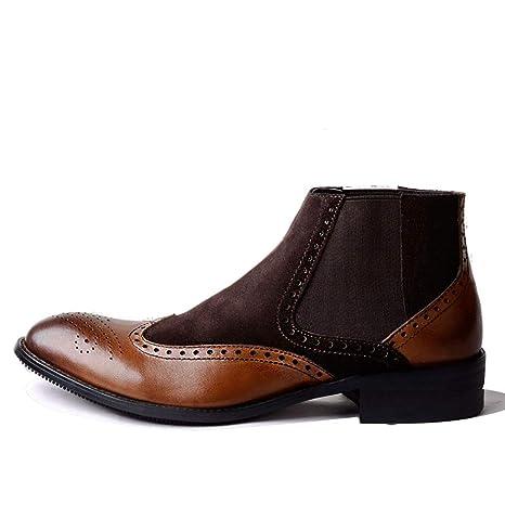 Pelle Boots Yan Martin 2018 Nuovo Uomo Chelsea In Scarpe Stivali 80NOwPnXkZ