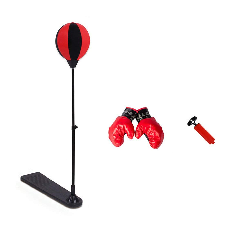 Portable Taille Stress Relief Boxe Punch Poire Vitesse Balle D/étendu Boxe Punching Bag Speed Ball Set Outils dentra/înement de Boxe