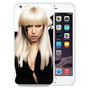 Personality customization Custom Lady Gaga Haircut Image Microphone Gloves (2) iPhone 6 Plus 5.5 inch cell phone case At LINtt Cases