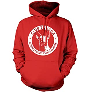 New! Xolos Crest Mens Hooded Sweatshirt