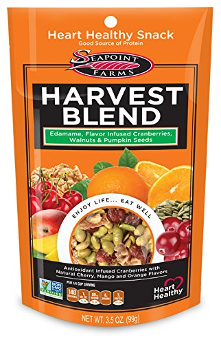 Harvest Blend Coffee - Seapoint Farms Snacks, Harvest Blend, 3.5 Ounce (Pack of 12)