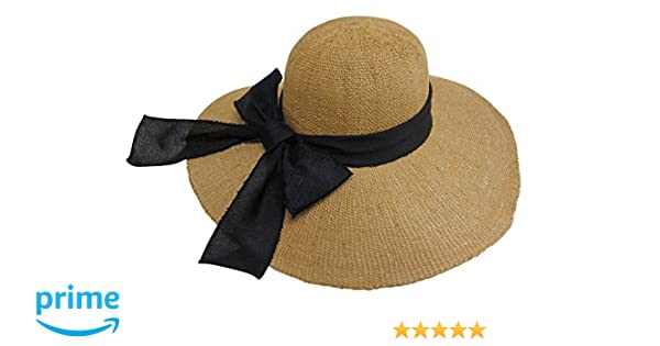 Floppy Foldable Ladies Women Straw Beach Sun Summer Hat Beige Wide Brim 315 Goods Of Every Description Are Available Apparel Accessories