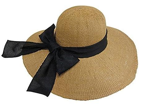 c4e7b66b7a9ac Floppy Beach Hat with Large Canvas Bow