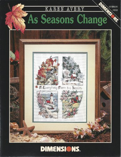 As Seasons Change - Counted Cross Stitch Pattern - Dimensions ()