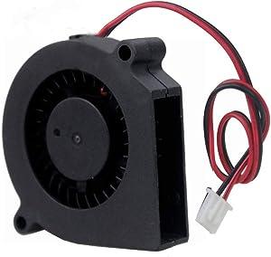 GDSTIME 60mm 12V DC Bushless Cooling Blower Fan, 60mm x 60mm x 15mm Blower Cooler Fan