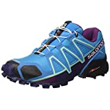 Salomon Women's Speedcross 4 W Mountaineering Boot, Hawaiian Surf, 6 M US