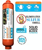 Clear2o Garden & Pet Water Hose Filter - Reduces Chlorine, Lead, Heavy Metals, Herbicides- Ideal for Organic Farmers - (Orange)