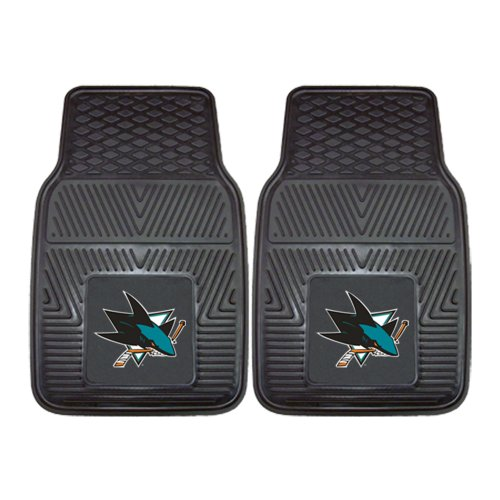 FANMATS NHL San Jose Sharks Vinyl Heavy Duty Car (Mat San Jose)