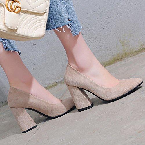 Fascino Donna Shoes E Da Mee Tacco Alto Beige Con w5xT4nZ