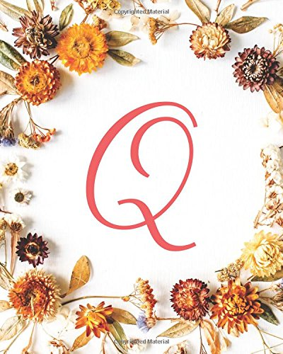 Q: Monogram Initial Blank Sheet Music for Guitar, 100 Blank Pages with Staff and TAB lines - Music Staff Paper Book /Music Manuscript Pad /Musicians Notebook- Fall Flowers (Volume 17) PDF