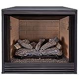 Duluth Forge PC36VFC Universal Ventless Firebox, 36 Inch, Black