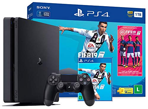 Sony Cuh-2214bconsole Bundle Fifa 19 - Playstation 4