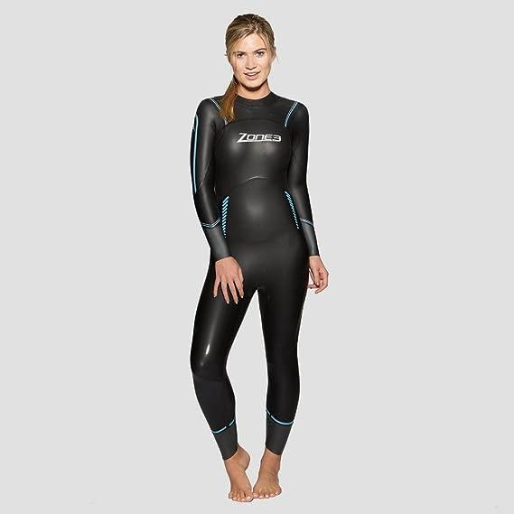 Amazon.com: zona 3 Mujer Advance FS traje de neopreno 2016 ...