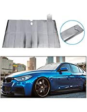 """Vkinman Car Windshield Sunshade Windscreen Cover Front Window Shades Protect from UV Sun and Heat Fit Various Sizes Cars (51""""x27.5"""")"""