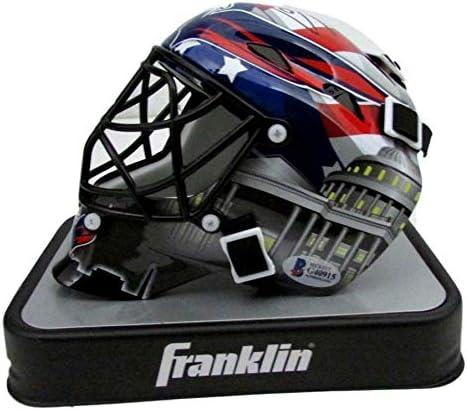 Amazon Com Braden Holtby Signed Autographed Washington Capitals Mini Goalie Mask Jsa 142695 Autographed Nhl Helmets And Masks Sports Collectibles