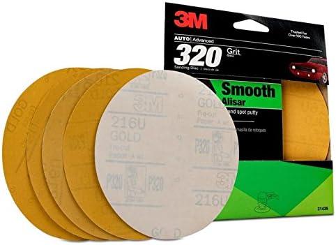 3M 31435 Stikit Gold 6 P320A Grit Disc
