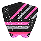 Shapers Tailpads Mod Series 3 Piece Traction Pad Black Grey