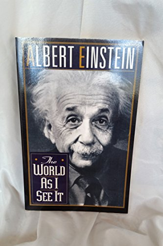 The World As I See It by Einstein, Albert published by Citadel Paperback