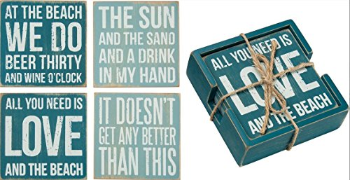 Primitives By Kathy Box Sign Coasters