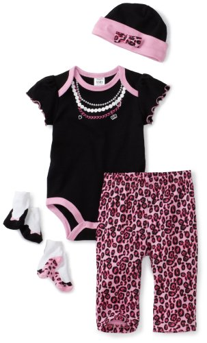 Baby Essentials Baby-girls Newborn Trump L'oil Layette Set
