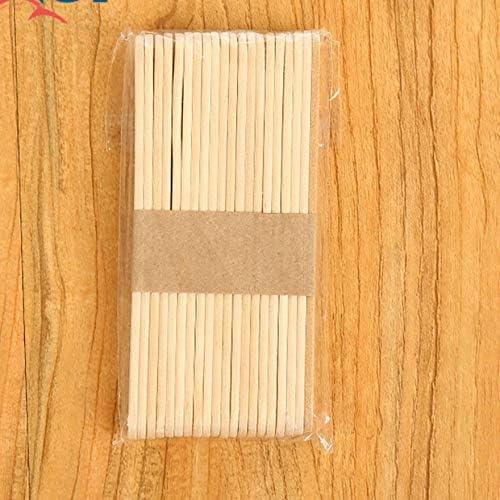 Colore Legno Sconosciuto 20 Pz//Lotto Bastoncini per Gelato Bastone per ghiaccioli in Legno Naturale Bambini Fai da Te Artigianato a Mano Art Gelato Attrezzo per Torta Lecca Lecca