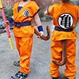 HOLRAN Dragon Ball Z Son GOKU cosplay Kids Adult uniform Large