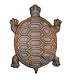 Turtle Stepping Stones Set of 6 Cast Iron Rust Finish Review