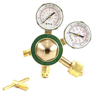 Forney 87090 Oxygen Regulator, Medium Duty, Victor Style