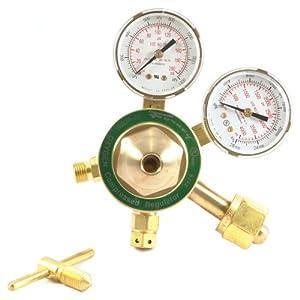 Forney 87090 Oxygen Regulator, Medium Duty, Victor Style