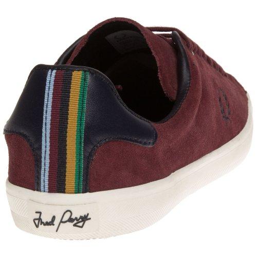 Fred Perry - Zapatos de cordones para hombre Marrone