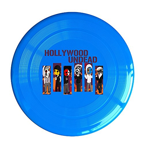 ZZYY Fashion Flying Disc Soft Boys Disc Sports Hollywood Undead Day Member Poster Single Unit RoyalBlue