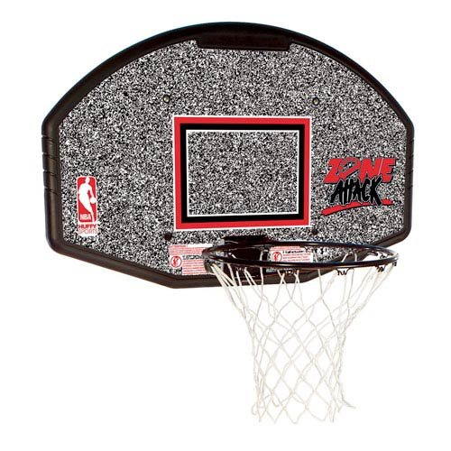 Spalding 44-Inch Backboard and Rim Combo with Eco-Composite Backboard (Basketball Rebounding Net)