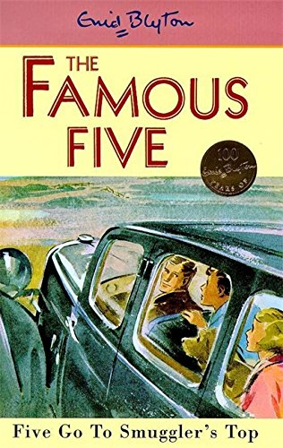 book cover of Five Go to Smuggler\'s Top