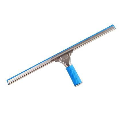 Acero inoxidable Hogar Baño Rasquetas azul cristal limpiaparabrisas ...