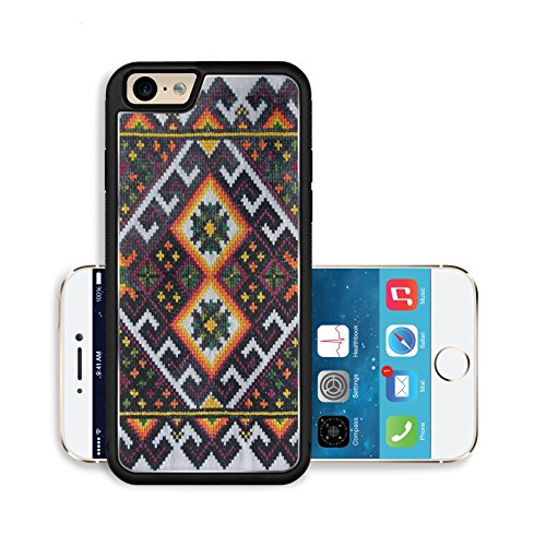 [Liili Premium Apple iPhone 6 iPhone 6S Aluminum Backplate Bumper Snap Case The Ukrainian ornament and embroidery a part of the Ukrainian culture is a lot of centuries] (Costumes Of Ukraine)