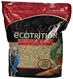 eCotrition A2105 Essential Blend Diet Bird Food for Parakeets, 5-Pound Bag