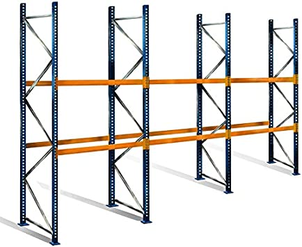 palé Estantería con 3 niveles, 5 m de altura, 8,5 m ancho ...